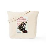 Prayer Against Dhimmitude Tote Bag