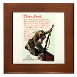 Prayer Against Dhimmitude Framed Tile