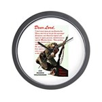 Prayer Against Dhimmitude Wall Clock