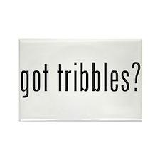 Star Trek: Got Tribbles Rectangle Magnet