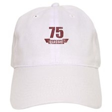 75th Birthday Classic Baseball Cap