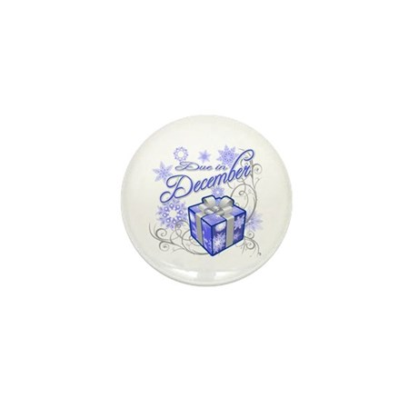 Due In December Mini Button (10 pack)