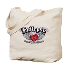 Epilepsy Wings Tote Bag