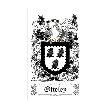 Otteley Rectangle Sticker
