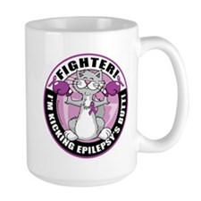 Epilepsy Cat Fighter Mug