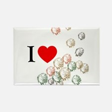 I Love Tribbles Rectangle Magnet