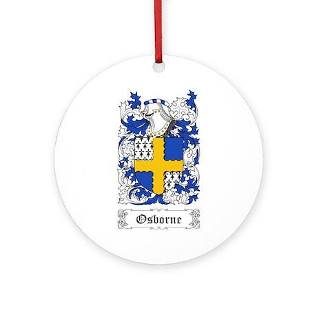 Osborne Ornament (Round)
