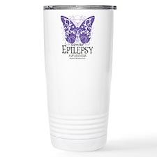 Epilepsy Butterfly Travel Mug