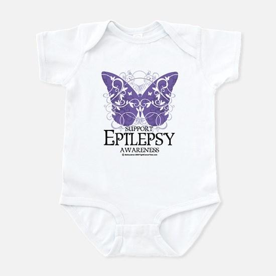 Epilepsy Butterfly Infant Bodysuit