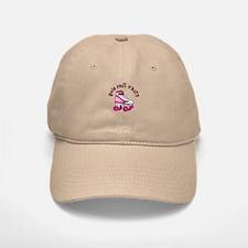 Pink Roller Derby Skate Baseball Baseball Cap
