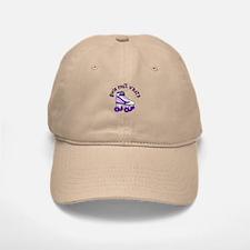Purple Roller Derby Skate Baseball Baseball Cap