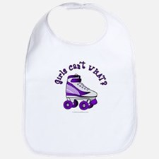 Purple Roller Derby Skate Bib