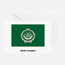 Arab League Flag Greeting Card