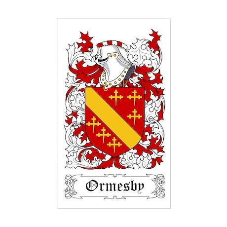 Ormesby Sticker (Rectangular)
