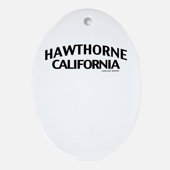 Hawthorne Ornament (Oval)