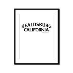 Healdsburg Framed Panel Print