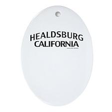 Healdsburg Ornament (Oval)