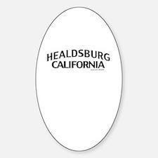 Healdsburg Decal