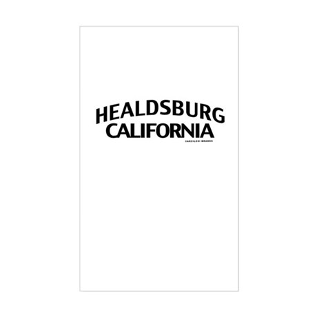 Healdsburg Sticker (Rectangle)