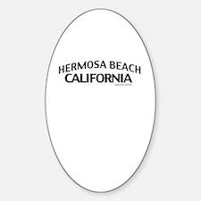 Hermosa Beach Decal