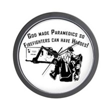 Paramedic Hero Wall Clock