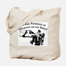 Paramedic Hero Tote Bag