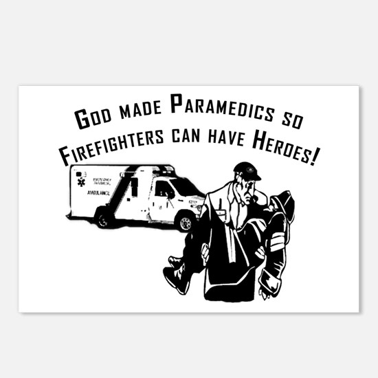 Paramedic Hero Postcards (Package of 8)