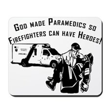 Paramedic Hero Mousepad