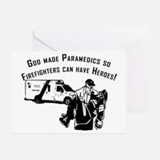 Paramedic Hero Greeting Card