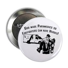 "Paramedic Hero 2.25"" Button"