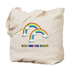 """""""What Does This Mean"""" Double Tote Bag"""