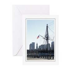 USS Constitution Greeting Cards (Pk of 10)