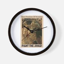 Fight the Jihad Wall Clock