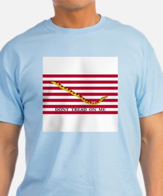 Naval Jack Don't Tread on Me Flag T-Shirt