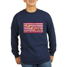 Naval Jack Don't Tread on Me Flag (Front) T