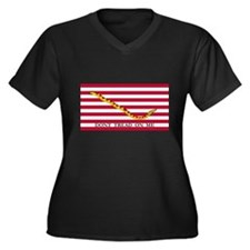Naval Jack Don't Tread on Me Flag (Front) Women's