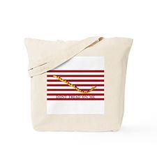 Naval Jack Don't Tread on Me Flag Tote Bag