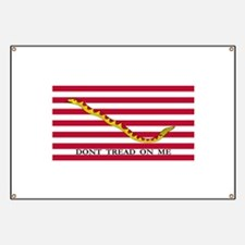 Naval Jack Don't Tread on Me Flag Banner