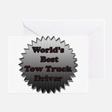 Unique Tow truck Greeting Card
