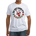 Santa and FESTIVUS™ Fitted T-Shirt