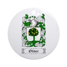 Oliver [English] Ornament (Round)