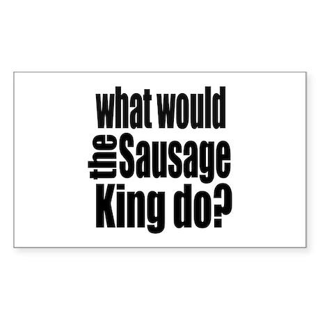 Sausage King Sticker (Rectangle)