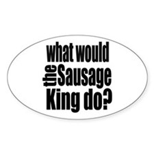 Sausage King Decal