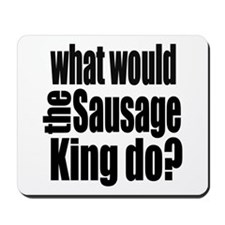 Sausage King Mousepad