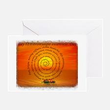 May 12th Fibromyalgia awarene Greeting Card