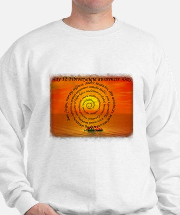 May 12th Fibromyalgia awarene Sweatshirt