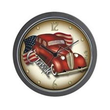 American Classic Car Wall Clock