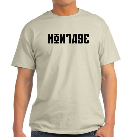 Montage White Light T-Shirt