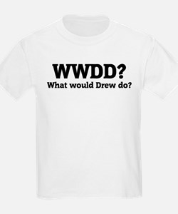 What would Drew do? Kids T-Shirt