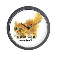 well rested Wall Clock